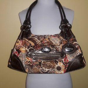 7f0cb336eb1e Genna De Rossi purse Brown Hardly used EUC